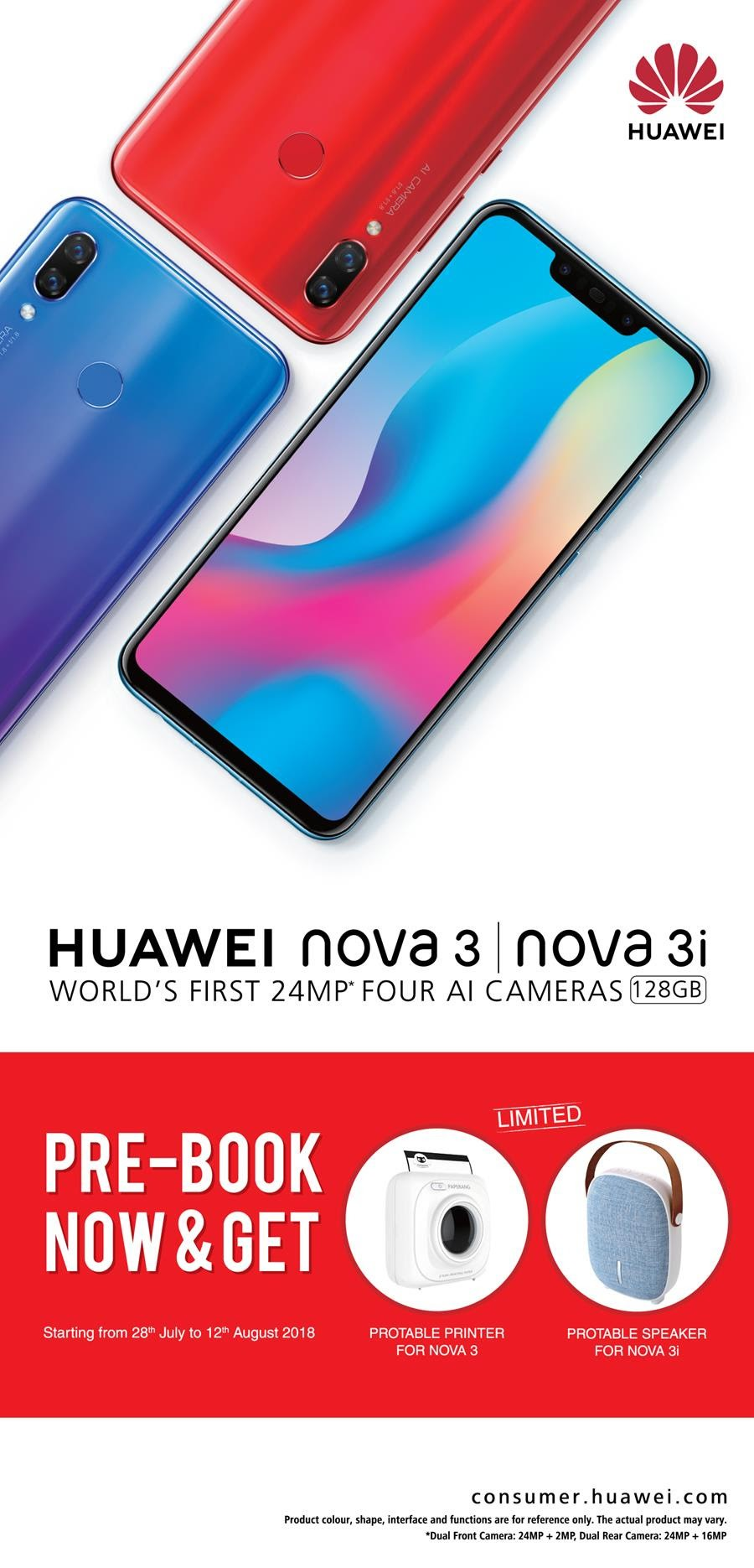 Huawei Nova offer