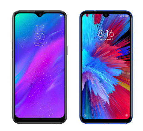 Oppo A5s design and display