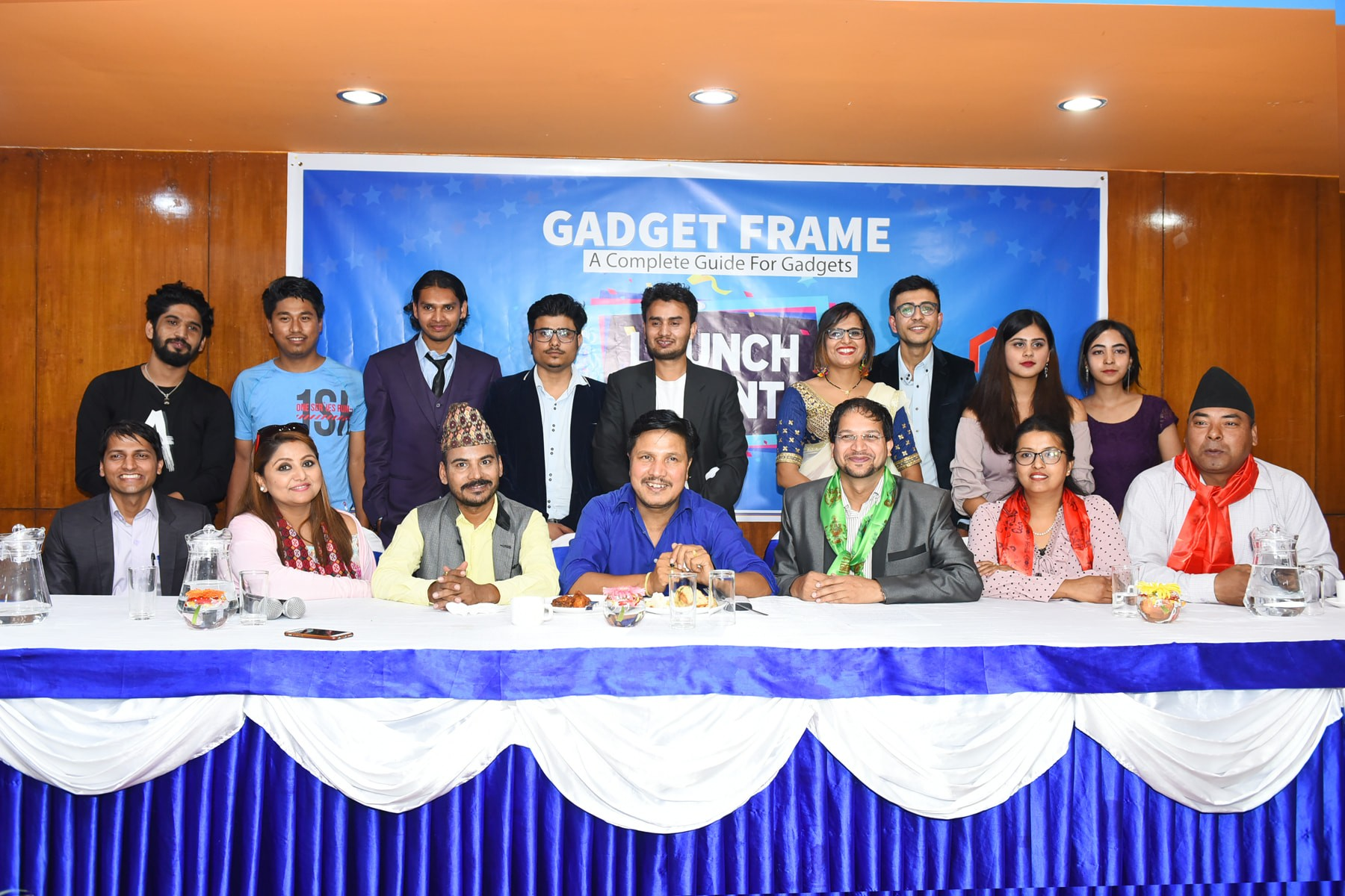 Gadgetfarme launch event