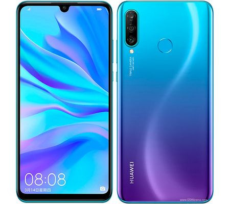 Huawei P30 lite design and display