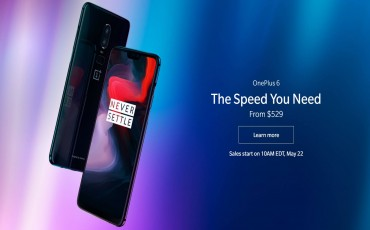 OnePlus 6 Launched With a Glass Back and a Notched Display