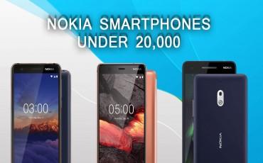 Nokia Smartphones Under 20000 in Nepal