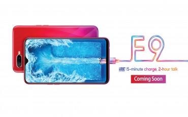 OPPO F9 with Breaking New Vision and 25MP AI Front Camera Launching Soon in Nepal