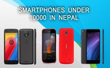 Best Smartphones Under 10000 in Nepal