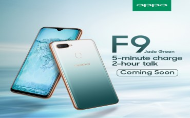 OPPO F9 Jade Green Limited Edition Coming Soon