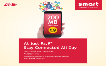 Smart Cell Data Packs in Nepal | Get 200MB at Rs. 9*