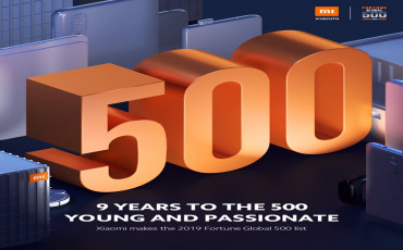 Xiaomi Becomes the Youngest Company on the Fortune Global 500 List