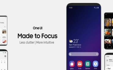Samsung  Upgrading One UI interface to version 2.0