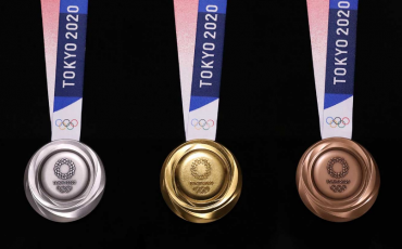 Tokyo Olympic 2020 Shows off Medals Harvested From Old & Unused Phones