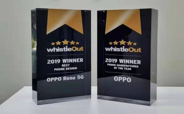 OPPO Wins Best Phone Manufacturer and Phone Design in 2019 WhistleOut Awards