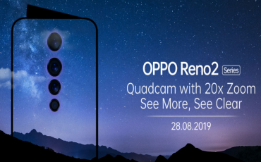 OPPO Reno 2 Series Announced | Will have Quad-Cam with 20X ZOOM