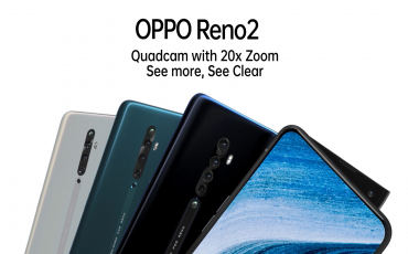 OPPO Reno 2 with 20X Zoom Quad Camera, Snapdragon 730G Launched