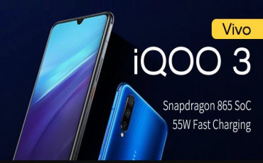 Vivo iQOO 3 5G Officially Released | SD865, Quad Camera and 55W Fast Charging