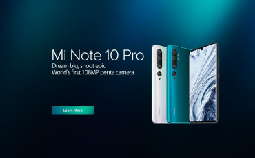Xiaomi Mi Note 10 Pro Officially Released | Penta Rear Camera with 108MP Sensor and SD730G