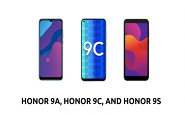 Honor 9A, 9C and 9S Officially Launched | Best Smartphones Without Google Services