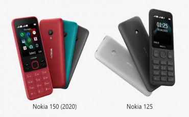 Nokia Launched Two New Feature Phones: Nokia 125 and Nokia 150