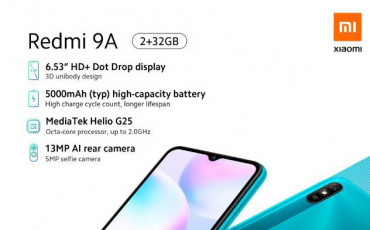 Redmi 9A Launched in Nepal   Entry-Level King is Here