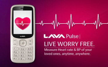 Lava Pulse | A Feature Phone with Heart Rate Sensor