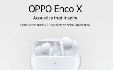 OPPO Enco X Announced with adjustable ANC, 20-hour battery life