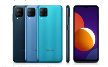 Samsung Galaxy M12 Launched in Nepal | 48MP quad cameras, 6,000mAh battery