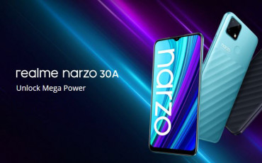 Realme Narzo 30A Goes Official with massive 6000mAh Battery