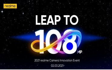 Realme Camera Innovation Event on March 2 | Leap To 108MP