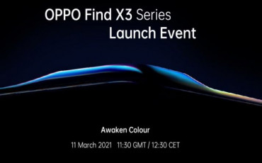 """OPPO Find X3 Launching on March 11 