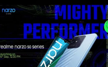 Realme Narzo 50 Series Launching on 24th September