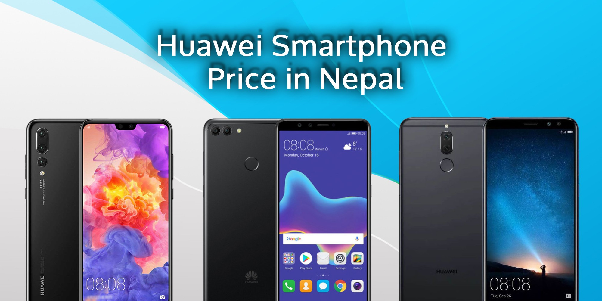 Huawei Mobile Price in Nepal [Updated July 2018]