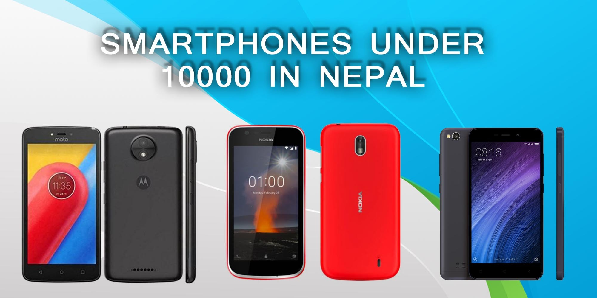 Best Smartphones Under 10000 in Nepal