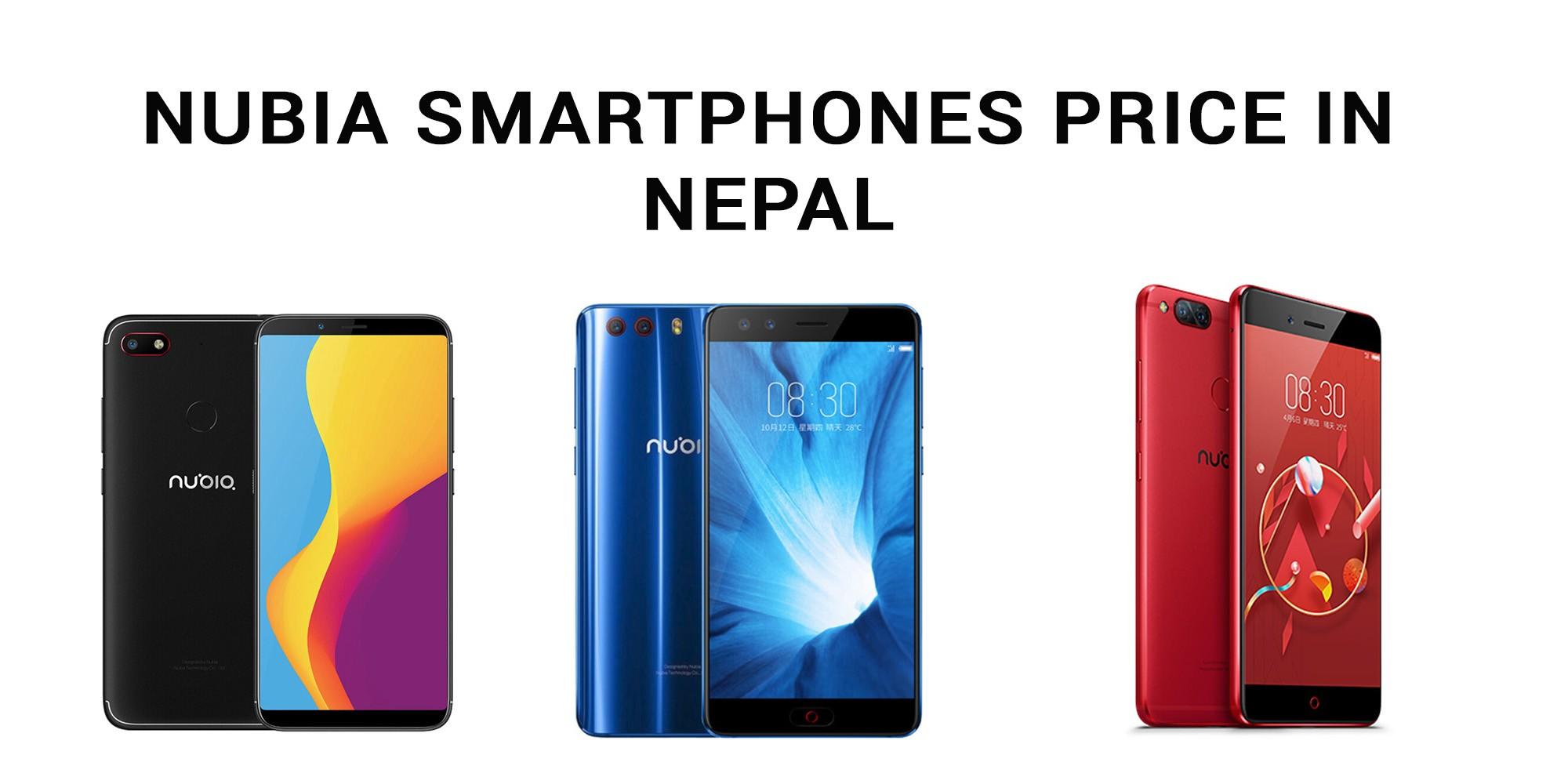 Nubia smartphones price in Nepal
