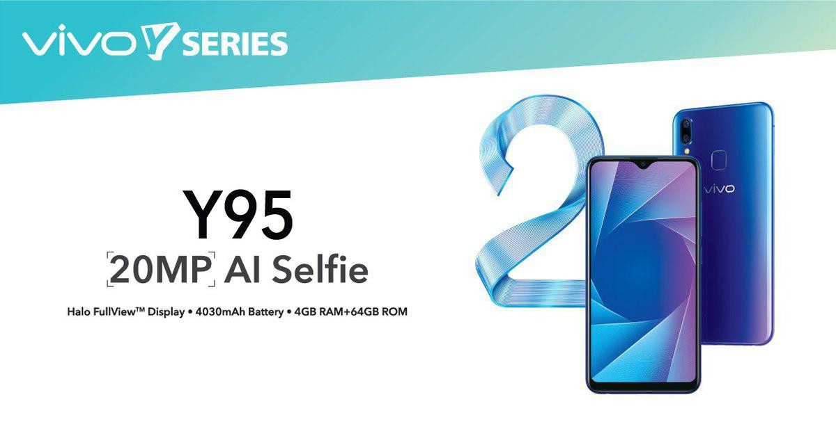 Vivo launches mid-range vivo Y95 and Y91 from Y seires in Nepal