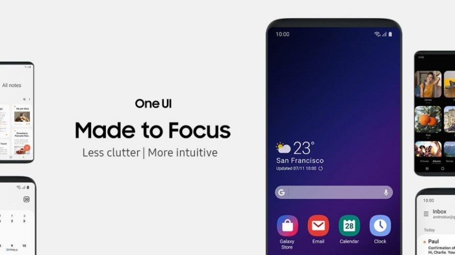 Samsung One UI Review: One Hand Usage, Dark Mode, Gesture Navigation and many more