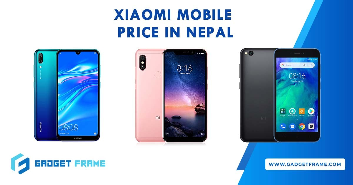 Xiaomi Mobile Phone Price in Nepal