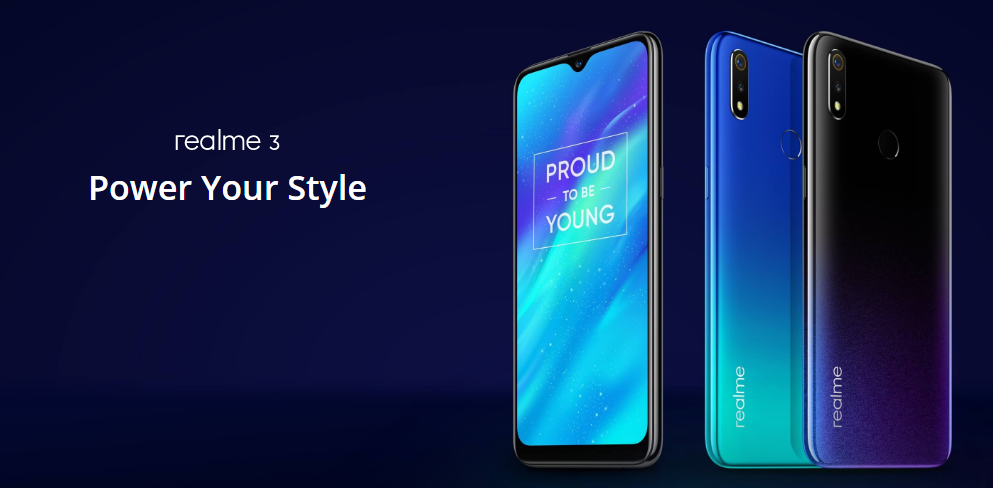 Realme 3 Price in Nepal | Power your Style