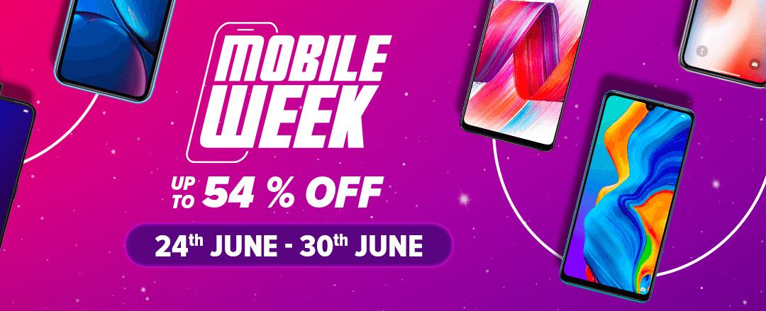 Daraz Mobile Week Starts - Discount Up to 5000 on Mobile Phones via Card Payment