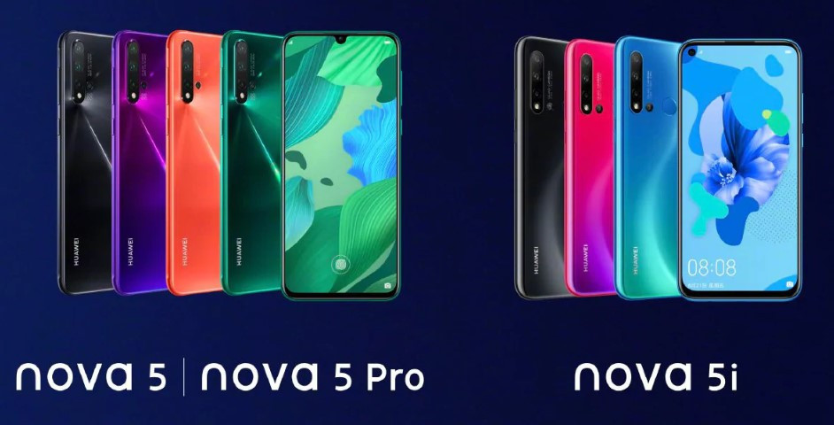 Huawei Nova 5 Series launched in China, Coming to Nepal | Quad Camera Beast !!!