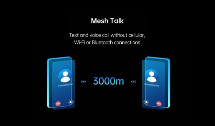 OPPO announced MeshTalk: Chat to friends without Network, Wifi or Bluetooth