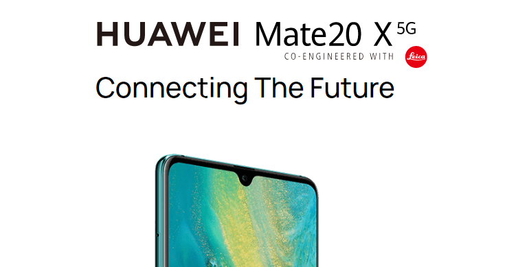 Huawei Mate 20 X 5G launched in Home Country,  Hitting International Market Soon