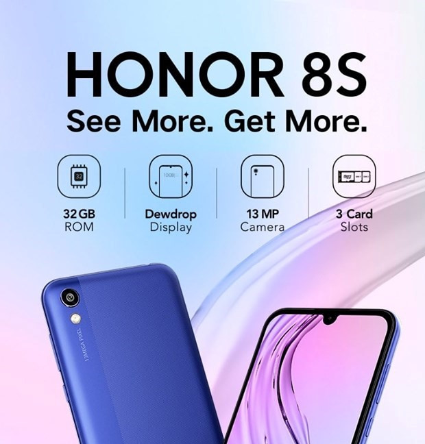 Honor 8s Launched in Nepal  | New device in Entry Level Segment