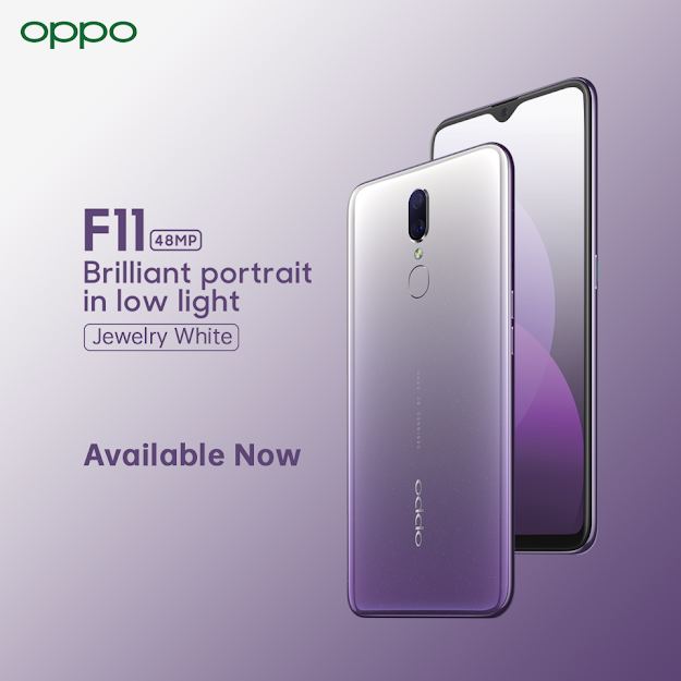 OPPO Unleashes F11's third color