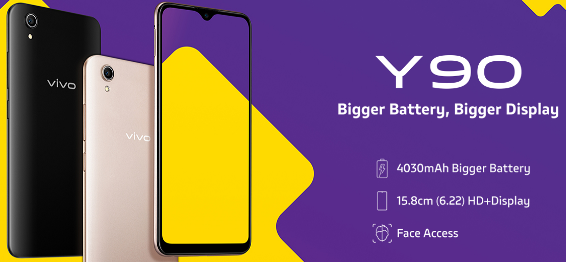 Vivo Y90 launched with Helio A22 Chipset | Another option in Entry-Level Segment
