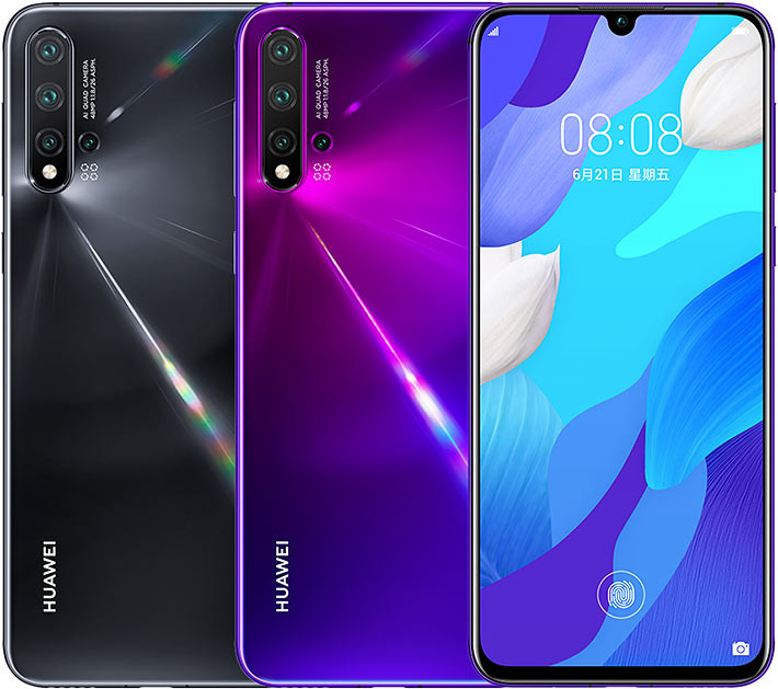 Huawei Nova 5 Launched with Kirin 810 and Quad-Camera Setup