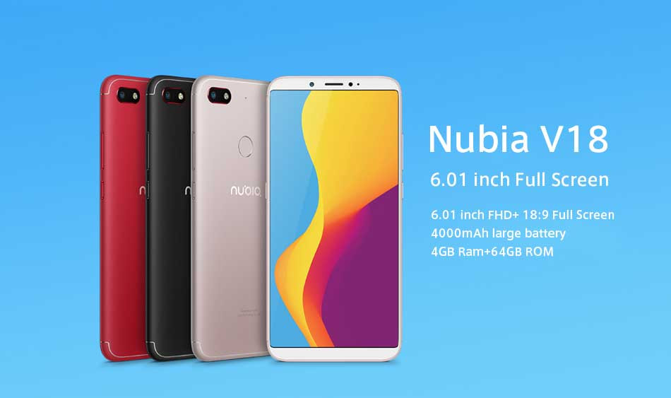 Nubia V18 available in Daraz | Price under Rs.20K in Nepal