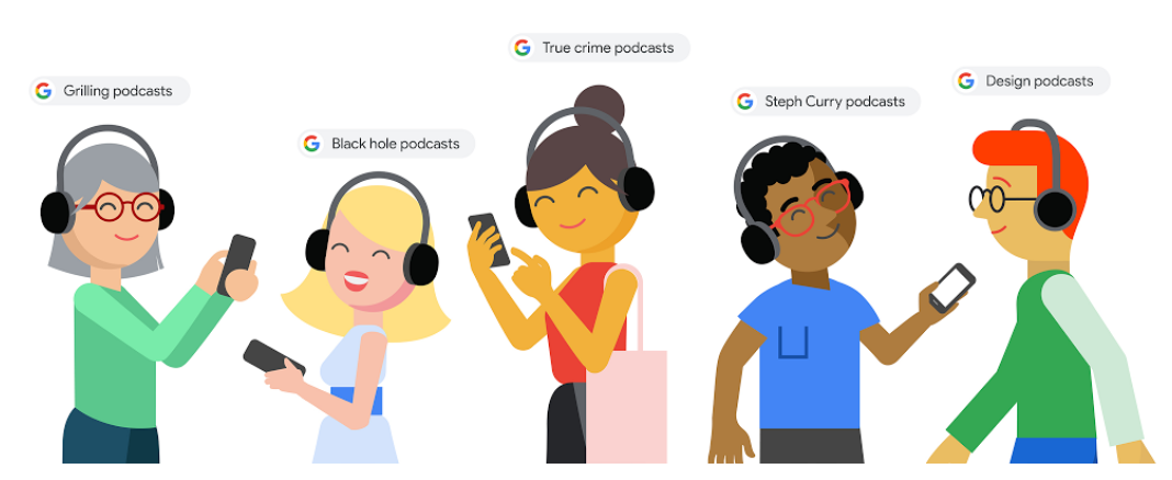 Finally Google Starts to Show Podcasts in Search Result Pages