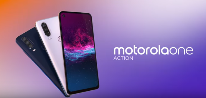 Motorola One Action Launched with Action Packed Camera and 21:9 Screen
