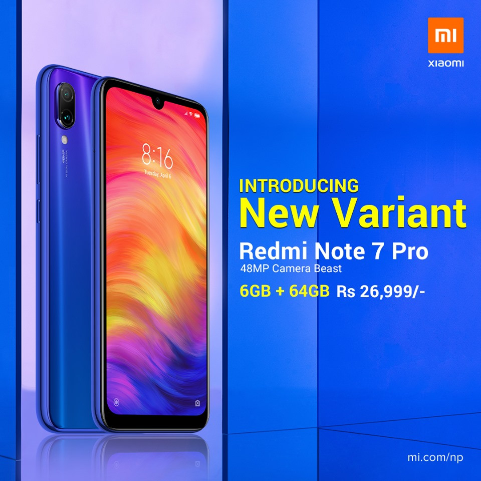 Xiaomi Redmi Note 7 Pro Launched in Nepal | Best Phone at Suprising Price