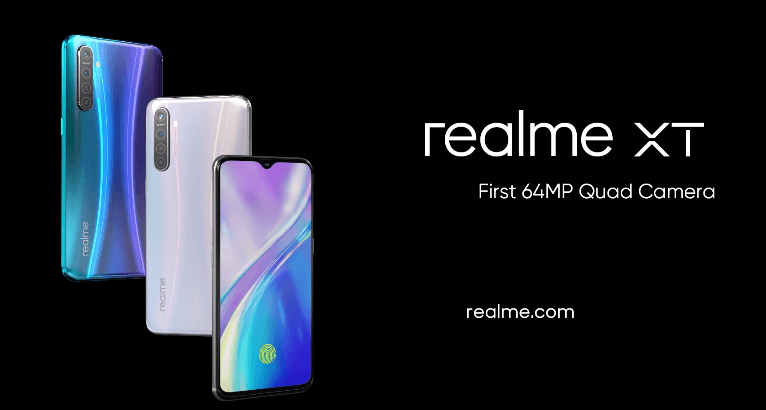 Realme Launched Realme XT | 64MP Rear Camera Sensor is now Reality !