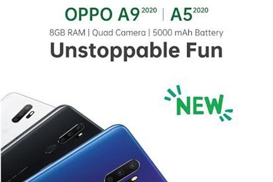 OPPO Announces Launch Date For A9 2020 In Nepal: 8GB RAM, 5000 mAh Battery, Stunning Photography