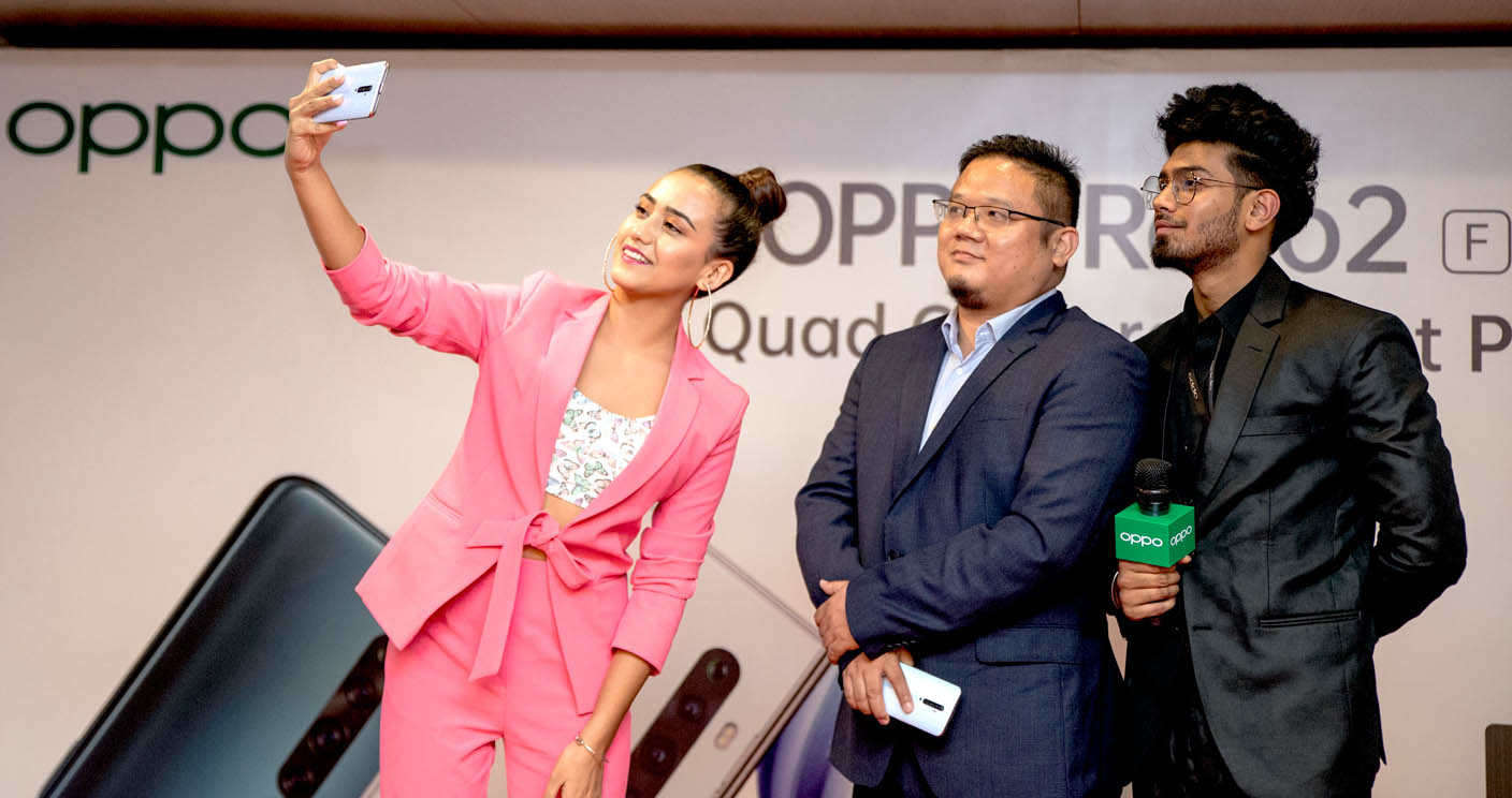 OPPO Reno2F Launched in Nepal: Will it go Ahead of Galaxy A70?